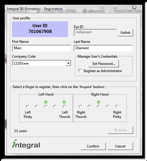 IBI 6 Admin Control Panel